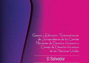 El Salvador – Jurisprudencia de DDHH de las Mujeres 2010