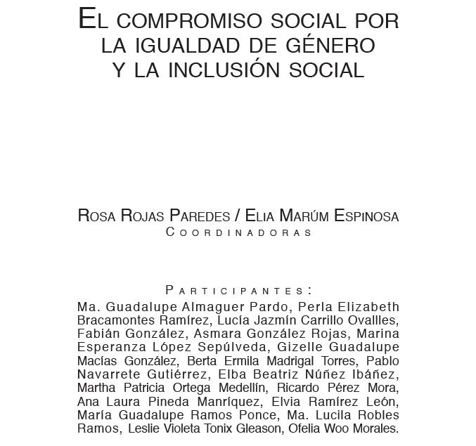 El Compromiso Social por la Igualdad de Género y la Inclusión Social, investigación realizada en tres países de la Región