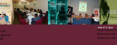 Nota Informativa del Programa de Litigio N° 2- 2014