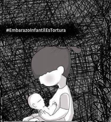 Campaña #EIFesTortura: Urgen políticas públicas contra el embarazo y maternidad infantil