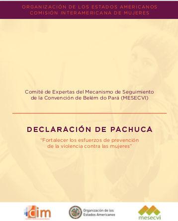 Se adopta la Declaración de Pachuca para prevenir la violencia contra las mujeres. Mayo 2014