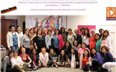 Que los derechos humanos de las mujeres se cumplan en el 2015. Ya es tiempo, Es hora!
