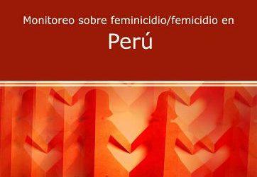Monitoreo sobre Feminicidio/Femicidio en Perú