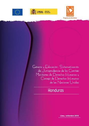 Honduras – Jurisprudencia de DDHH de las Mujeres 2010