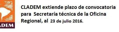 Se extiende llamado para cargo de Secretaría Técnica de la Oficina Regional de CLADEM en Lima