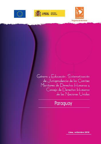 Paraguay – Jurisprudencia de DDHH de las Mujeres 2010