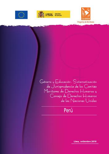 Peru – Jurisprudencia de DDHH de las Mujeres 2010