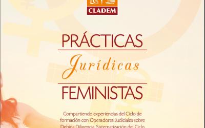 CLADEM presenta «Prácticas Jurídicas Feministas» Sistematización del Ciclo de Formación con Operadores de Justicia