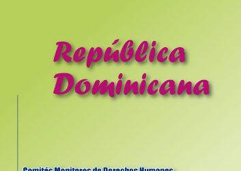 República Dominicana – Jurisprudencia de DDHH de las Mujeres 2009