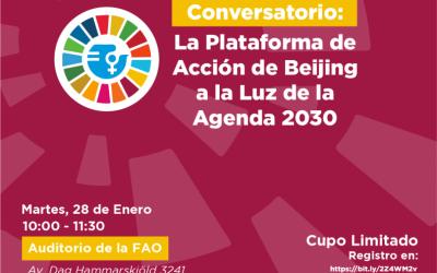 Conversatorio: La Plataforma de Acción de Beijing a la Luz de la Agenda 2030