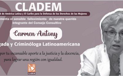 Carmen Anthony García, QEPD