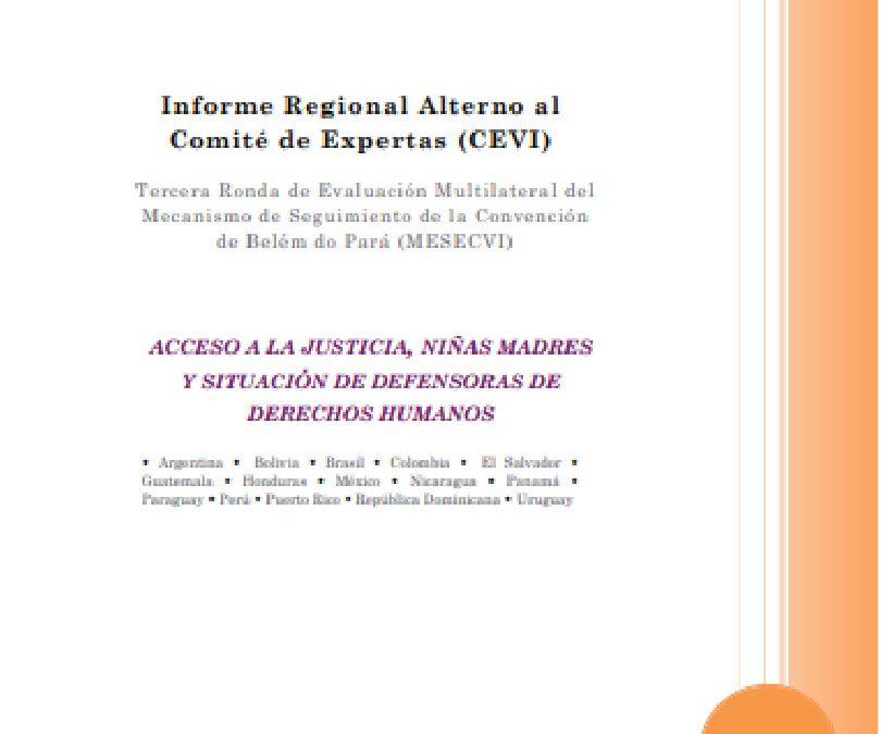 Informe Regional Alterno al Comité de Expertas (CEVI).