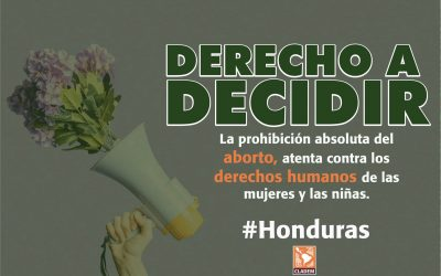 La prohibición absoluta del aborto, atenta contra los derechos humanos de las mujeres y las niñas.
