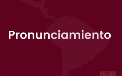 Pronunciamiento regional sobre la situación en Colombia
